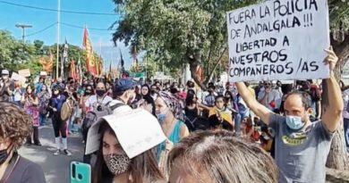 LIBERACIÓN DE LOS PRESOS EN ANDALGALÁ, CATAMARCA MEGA MINERÍA ,AGUA Y PERSECUCIÓN UN CONFLICTO RECIENTE QUE TODAVÍA NO TERMINA